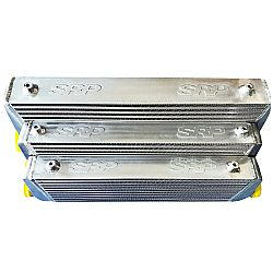 Intercooler 55 x 28 x 6,5 cm double fin with BAFFLED TANK