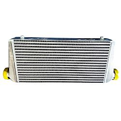 Intercooler 60 x 30 x 7,5 cm double fin with BAFFLED TANK