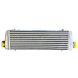 Intercooler 55 x 23 x 6,5 cm double fin with BAFFLED TANK