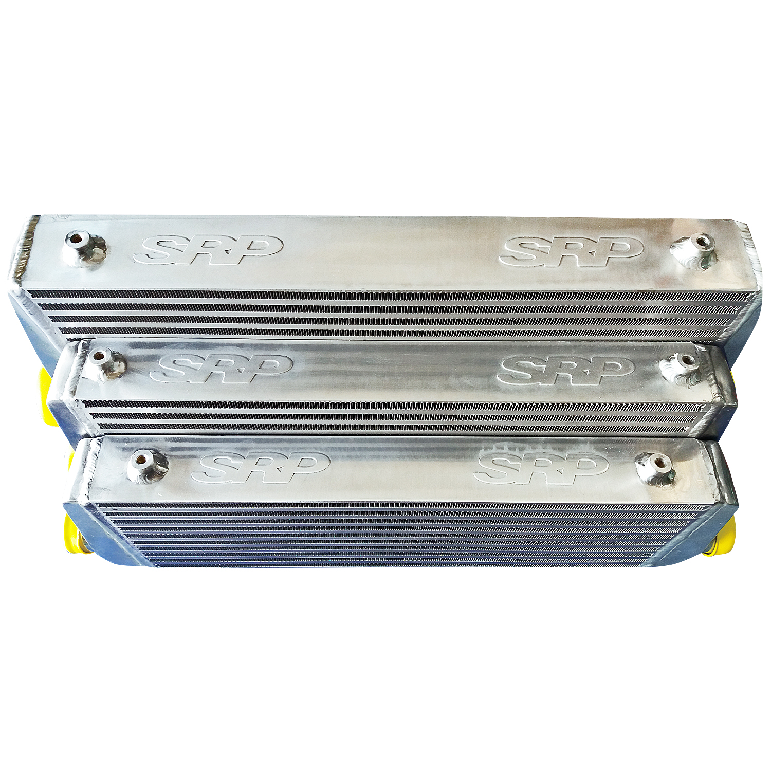 Intercooler 60 x 28 x 7,5 cm double fin with BAFFLED TANK