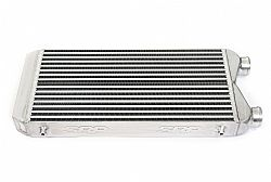Intercooler 55 x 28 x 6,5 cm double fin SAME SIDE